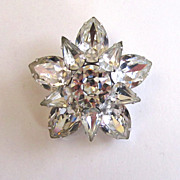 Karu Large Sunburst Brooch/Pin