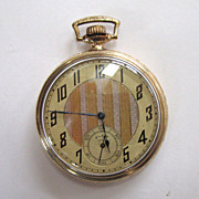 Elgin 1000 Gold-Filled Pocket Watch with Illinois Case.