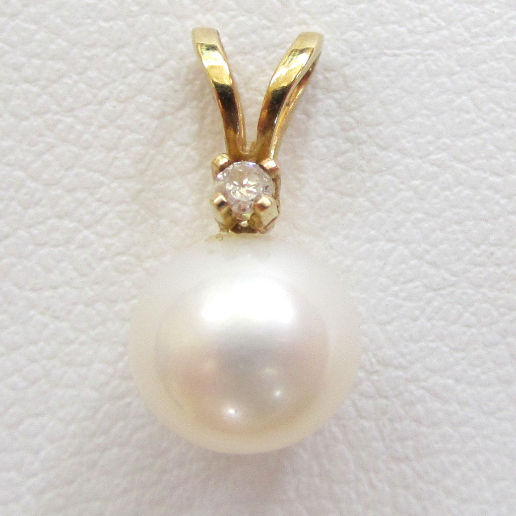 14K Yellow Gold Cultured Pearl