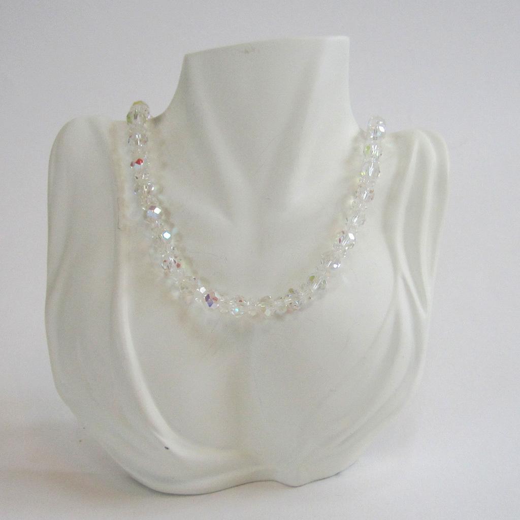 Laguna Crystal Bead Necklace/Choker