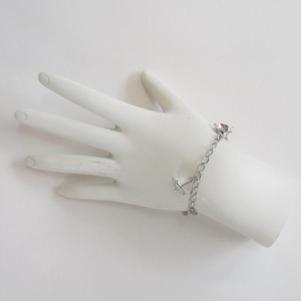 Sterling Silver Garden Tool Bracelet