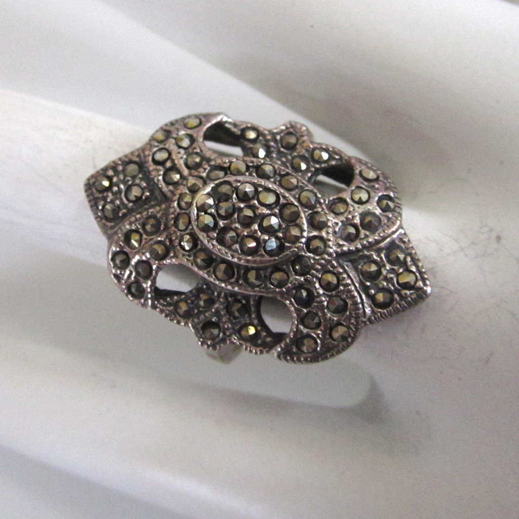 Vintage Marcasite Rings 39