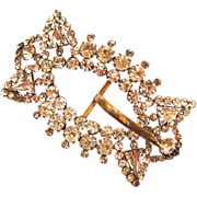 Large Rhinestone Buckle