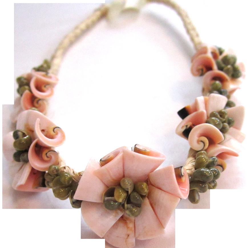 Rush and Sea Shell Headband/Headwrap