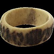 Set of Two Rings - One Bone, One Wood