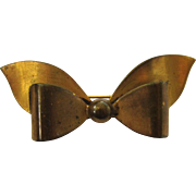 Brass Bow Brooch/Pin