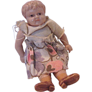 Celluloid jointed doll house doll Germany