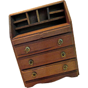 Doll House Wood pigeon hole Desk,