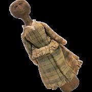 Original hand carved Stump Doll