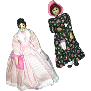 "8 1/2"" Ozark wooden dolls"