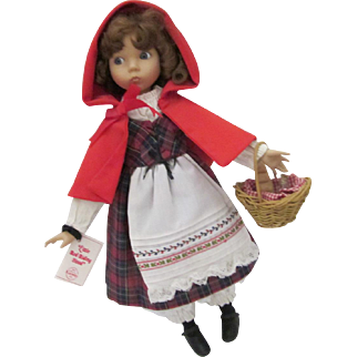 Little Red Riding Hood, by Dianna Effner for Edwin M. Knowles Company