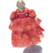 China Head doll house lady
