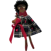 Older clothes pin doll