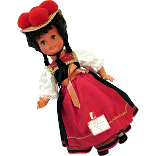 Black Forest Wine Festival Doll No. 58