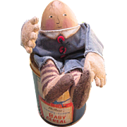 McNess humpty-dumpty baby cereal tin