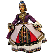 Tourist Doll from Greece Vintage
