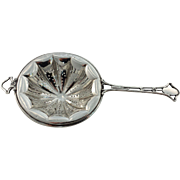 Sterling Silver Tea Strainer by Frank Whiting