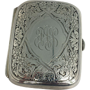 Art Nouveau Sterling Silver Case