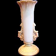 English Royal Worcester Flower Holder Vase c 1891