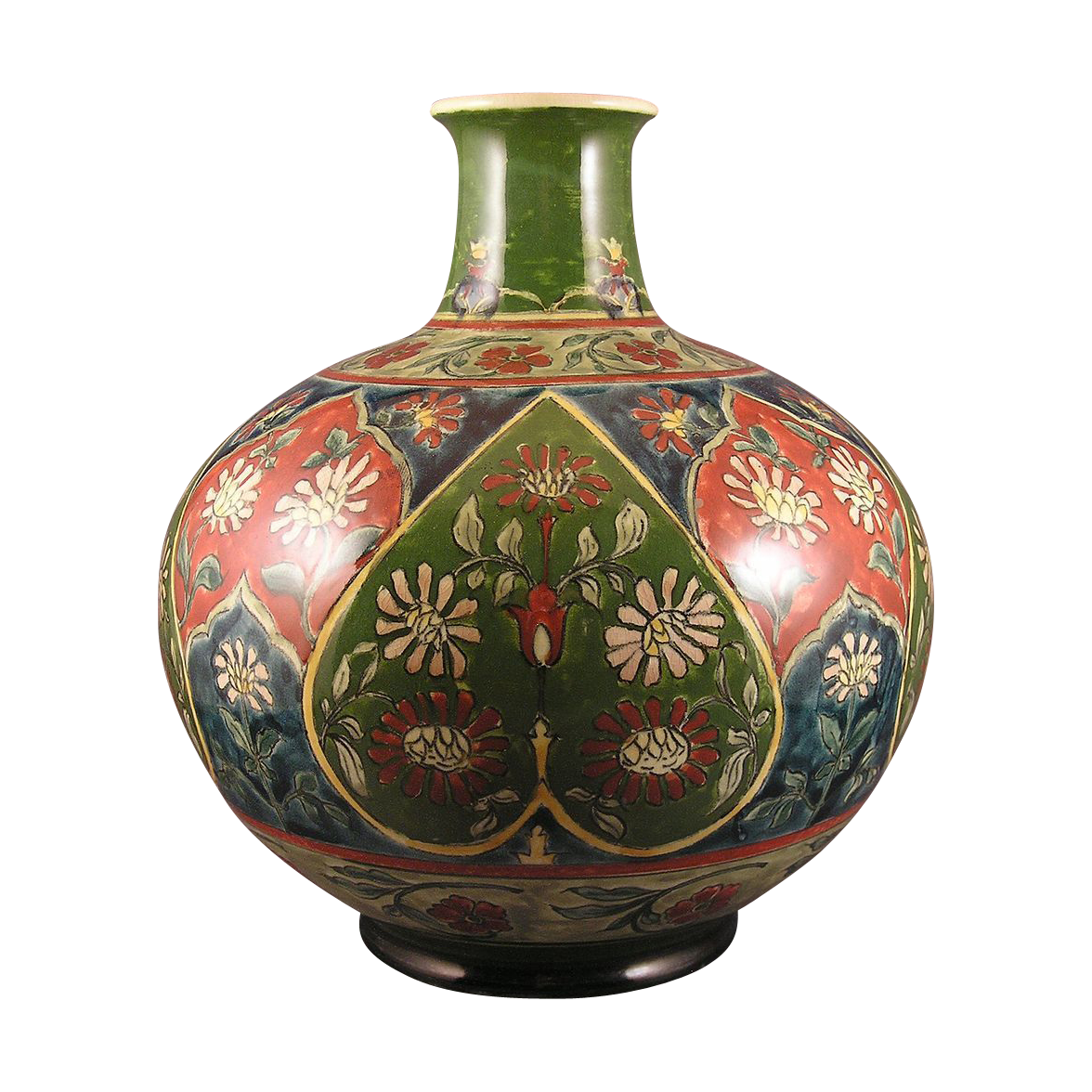 Royal Bonn Germany Art Nouveau Old Dutch Vase C 1890 1923 From Darkflowers On Ruby Lane