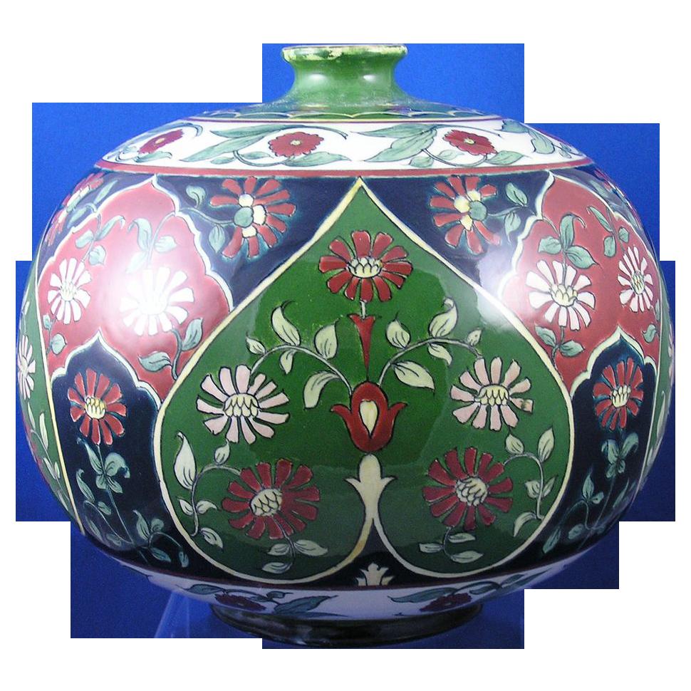"""Royal Bonn """"Old Dutch"""" Art Nouveau Vase (c.1890-1923)"""