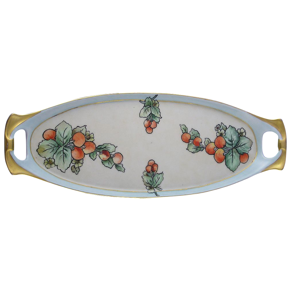 RS Germany Citrus Motif Serving Tray (c.1910-1925)