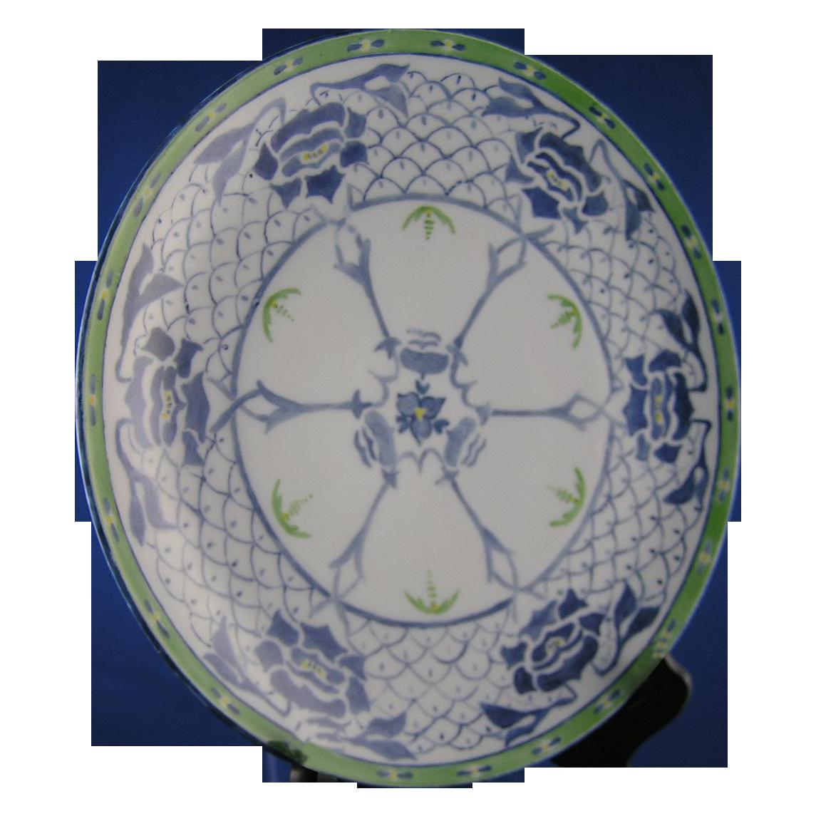 Oscar & Edgar Gutherz (O&EG) Austria Art Nouveau Plate (c.1899-1918)