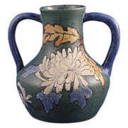 Stellmacher Amphora Austria Arts & Crafts Handled Vase (c.1905-1910)