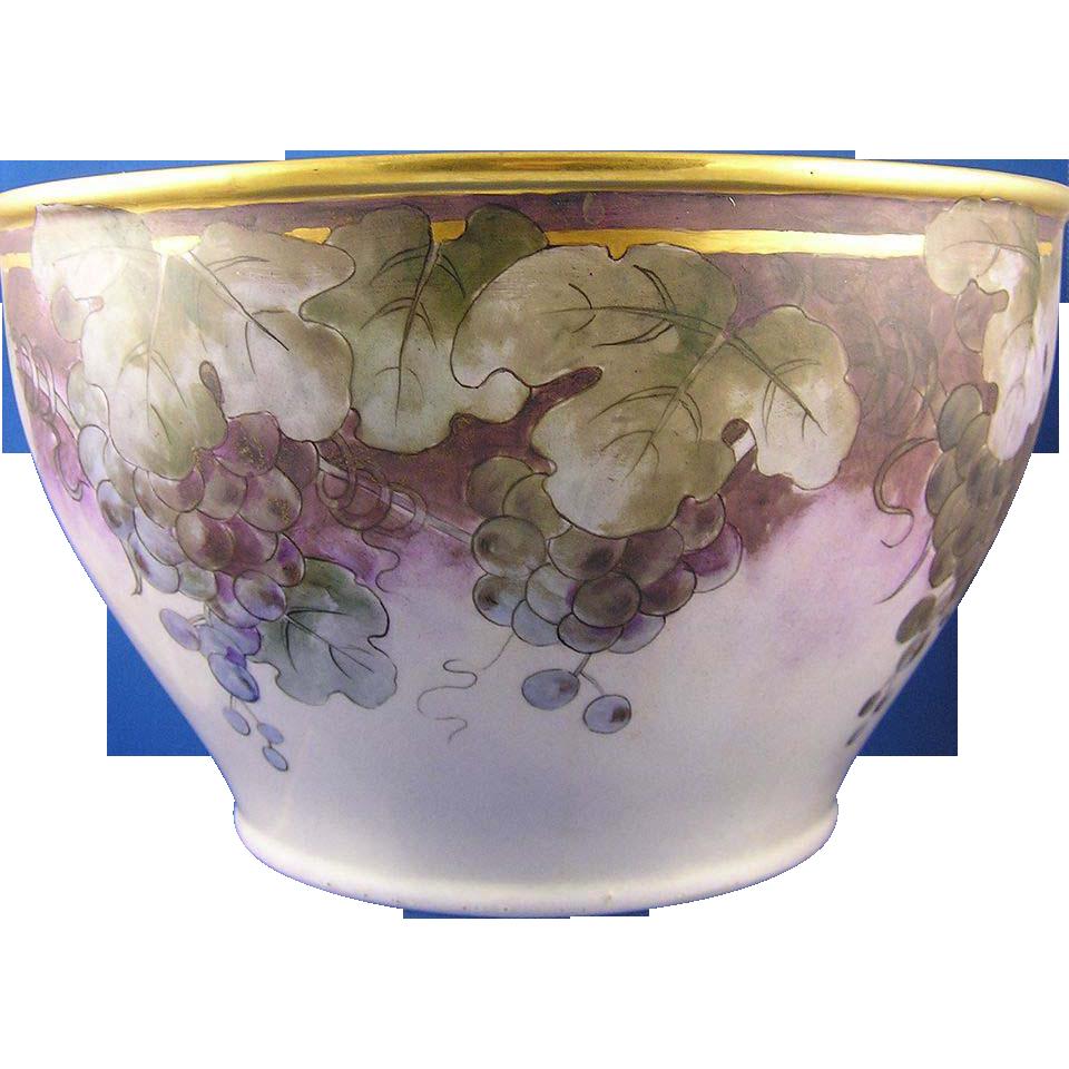 Lenox Belleek Grape Motif Centerpiece Bowl (c.1906-1924)