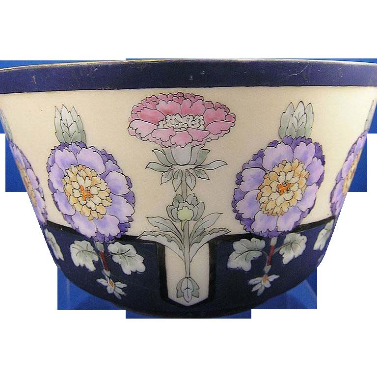 Jaeger & Co. (J&C) Bavaria Art Deco Floral Motif Bowl (c.1902-1930)
