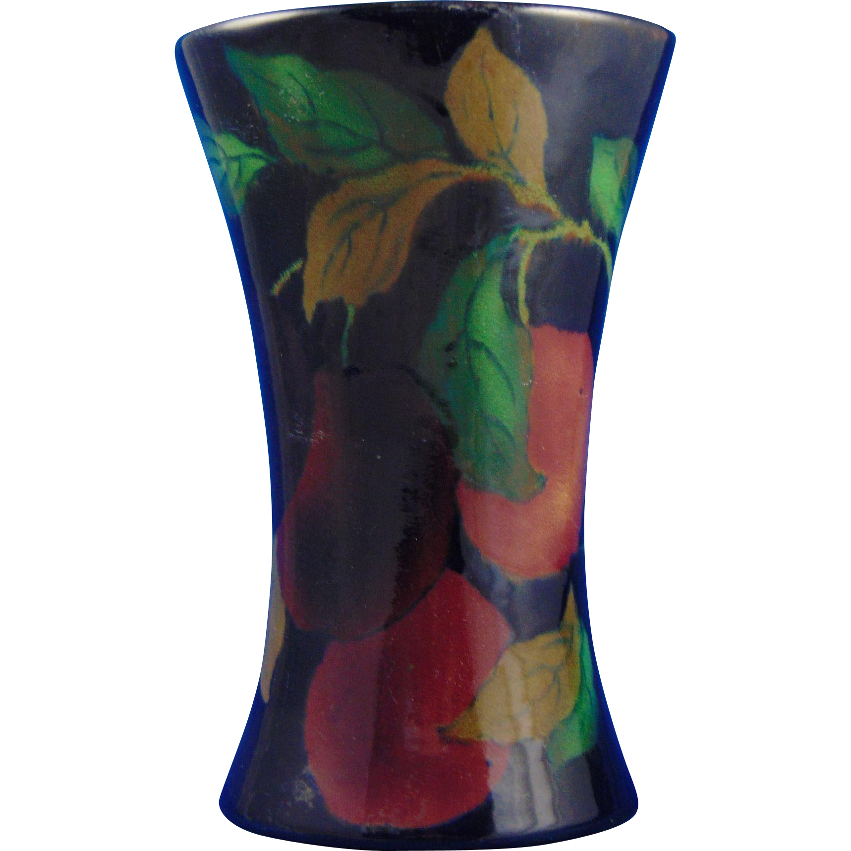 Royal Stanley England Jacobean Fruit Motif Vase (c.1919-1931)