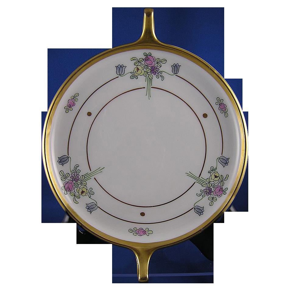 Pickard Studios Floral Motif Handled Dish (c.1910-1915)