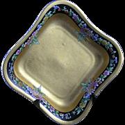 "Pickard Studios ""Rean Mums"" Pattern Bowl (Signed by Maxwell Rean Klipphahn/c.1919-1922)"