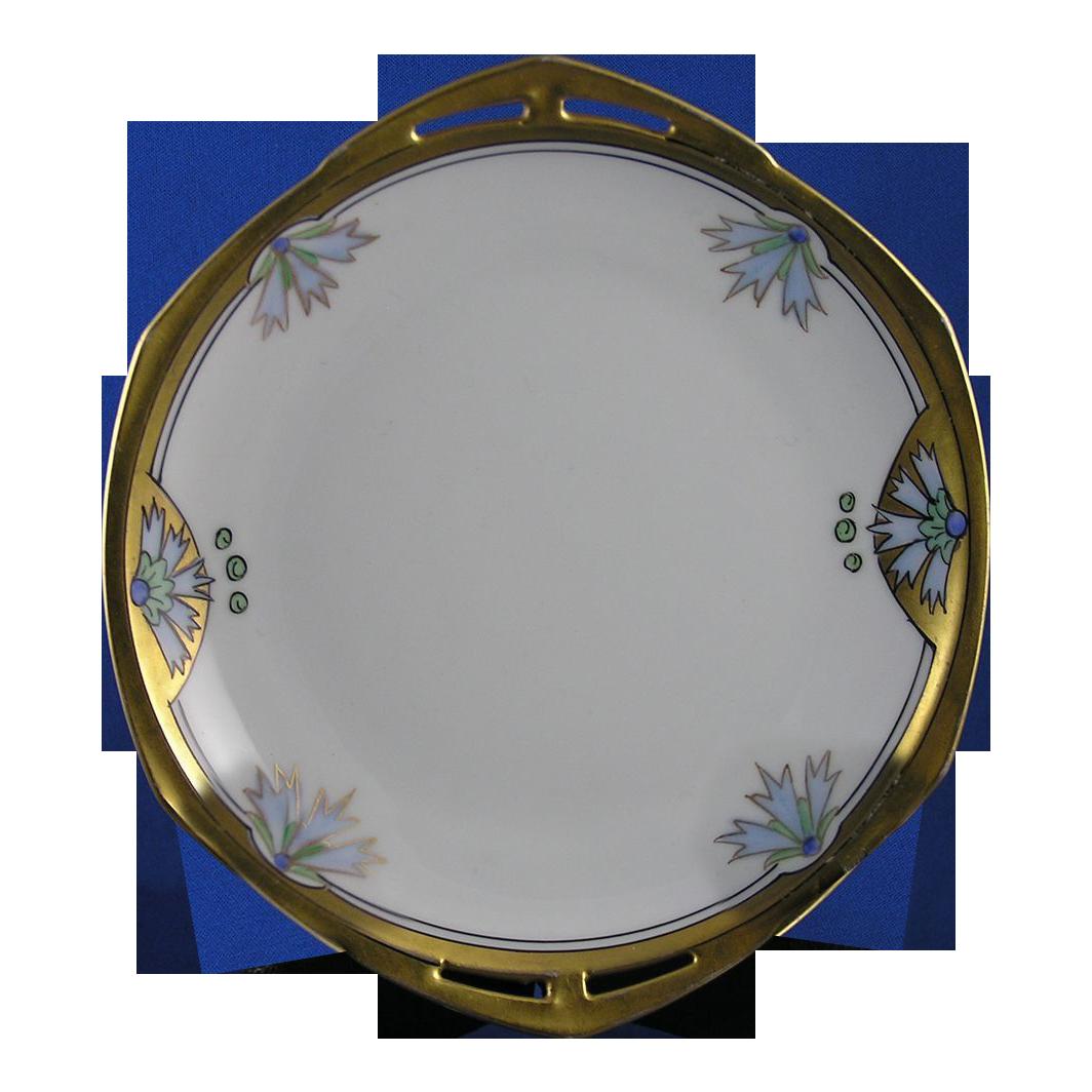 Pickard Studios Cornflower Motif Plate (c.1912-1918)