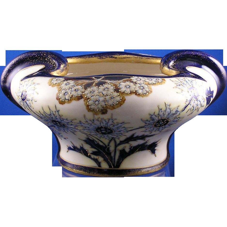 RStK Austria Amphora Arts & Crafts Floral Motif Vase/Jardinière (c.1900-1904)