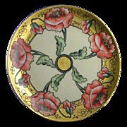 Haviland Limoges Poppy Motif Plate (c.1984-1931)