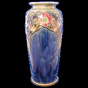 "Royal Doulton Arts & Crafts Floral Motif Vase (Signed by ""Lily Partington""/c.1923-1927)"