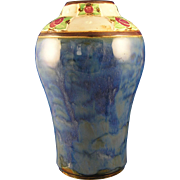 Royal Doulton Arts & Crafts Rose Motif Vase (Signed by Lily Partington /c.1923-1927)