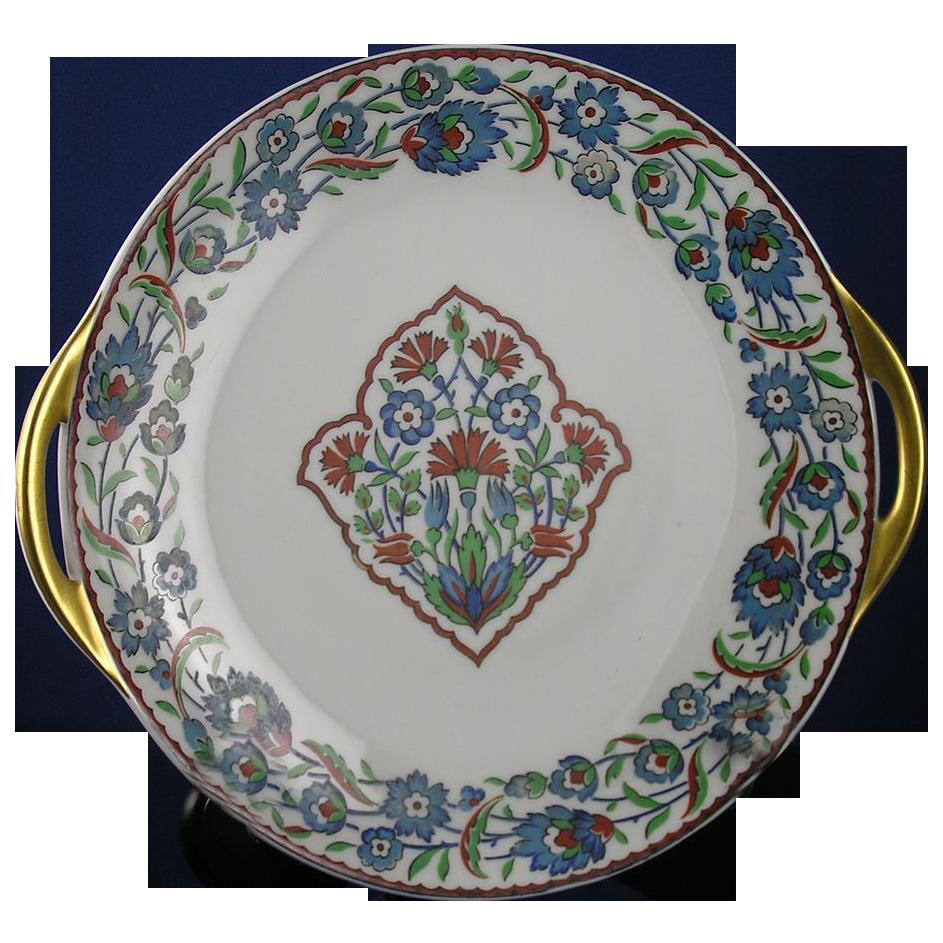 Haviland Limoges Iznik Islamic Turkish Floral Motif