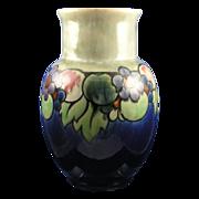 "Large Royal Doulton Arts & Crafts Fruit Motif Vase (Signed ""Maud Bowden""/c.1923-1927)."
