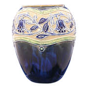 Royal Doulton Arts & Crafts Floral Motif Vase (c.1923-1927)