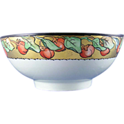 P.M Mavaleix (PM de M) Limoges Arts & Crafts Berry Motif Bowl (c.1908-1914)