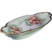 Jaeger & Co. (J&C) Bavaria Nasturtium Motif Serving Dish (c.1906-1914)