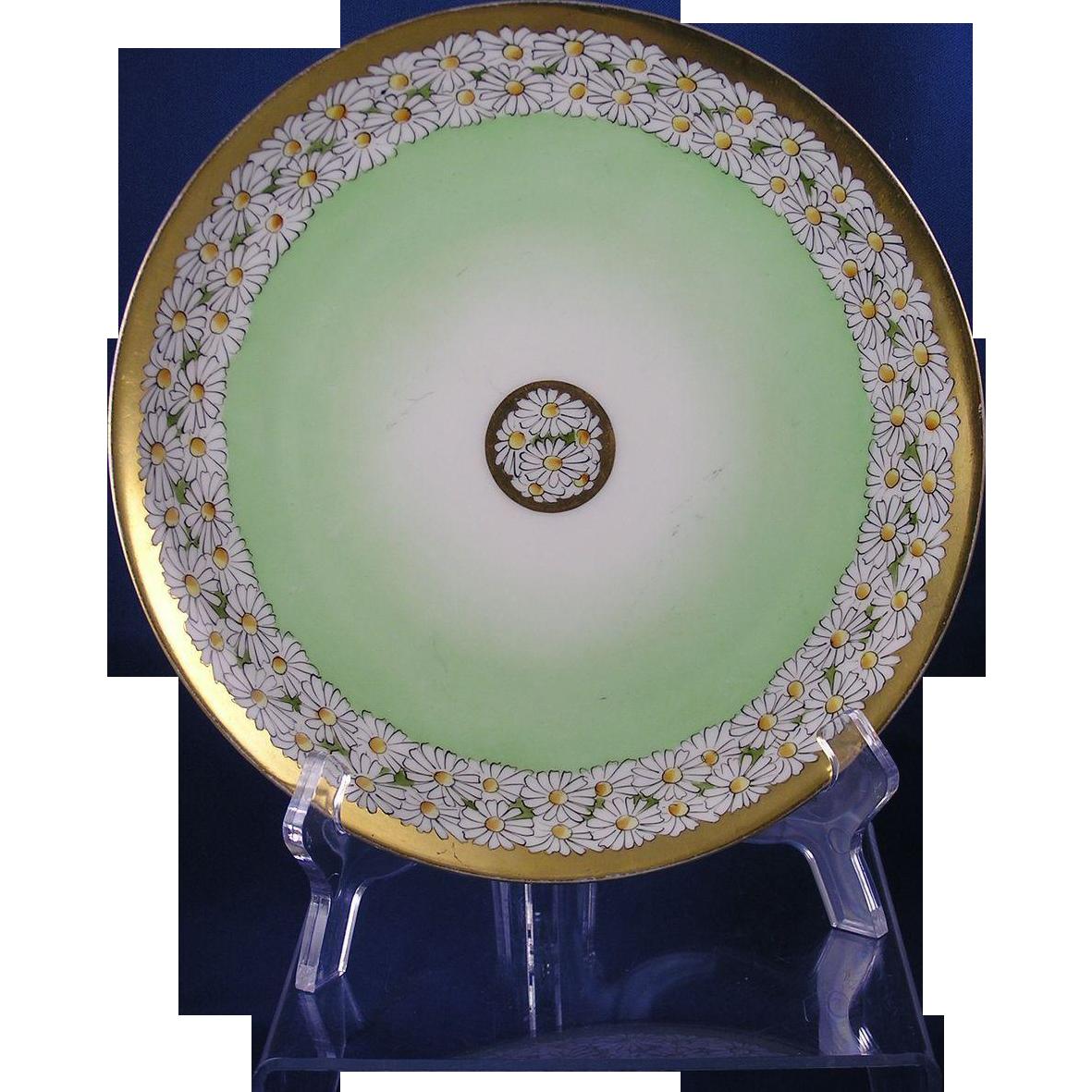 Haviland Limoges Stouffer Studios Daisy Motif Plate (c.1906-1914)