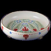 Pfeiffer & Lowenstein (P&L) Austria Arts & Crafts/Folk Art Design Footed Bowl (c.1914-1918)