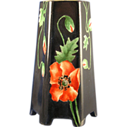 "Victoria Austria Arts & Crafts Poppy Motif Vase (Signed ""M. Bryson""/Dated 1914)"