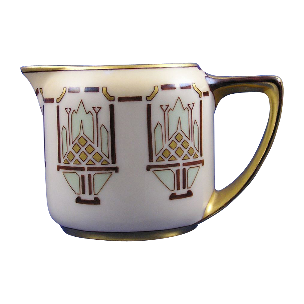 Rosenthal Donatello Bavaria Arts & Crafts/Mission Design Creamer/Pitcher (c.1907-1940)