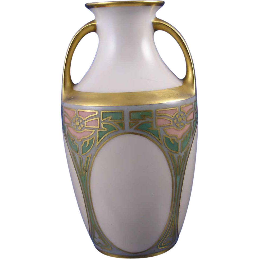 Reinhold Schlegelmilch (RS) Germany Arts & Crafts Vase (c.1904-1938)