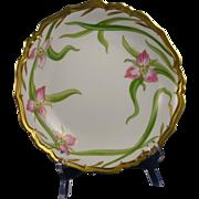 Blakeman & Henderson Limoges Trillium Design Bowl (c.1900-1918)