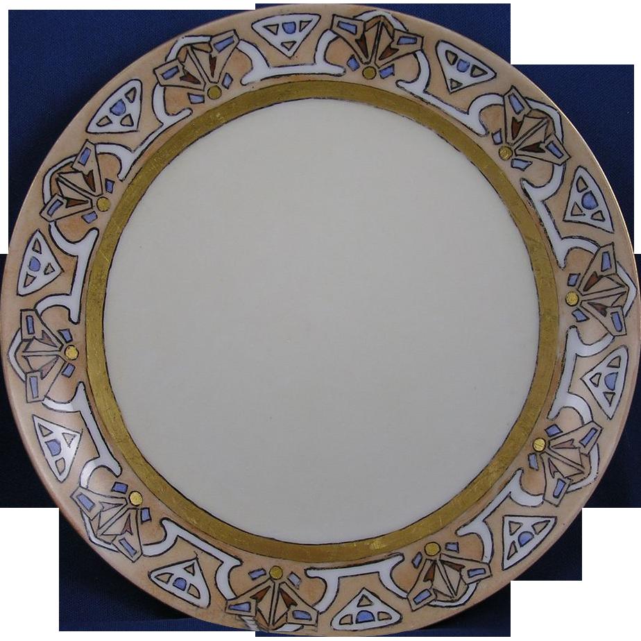 Haviland Limoges Arts & Crafts Plate (c.1910-1930)